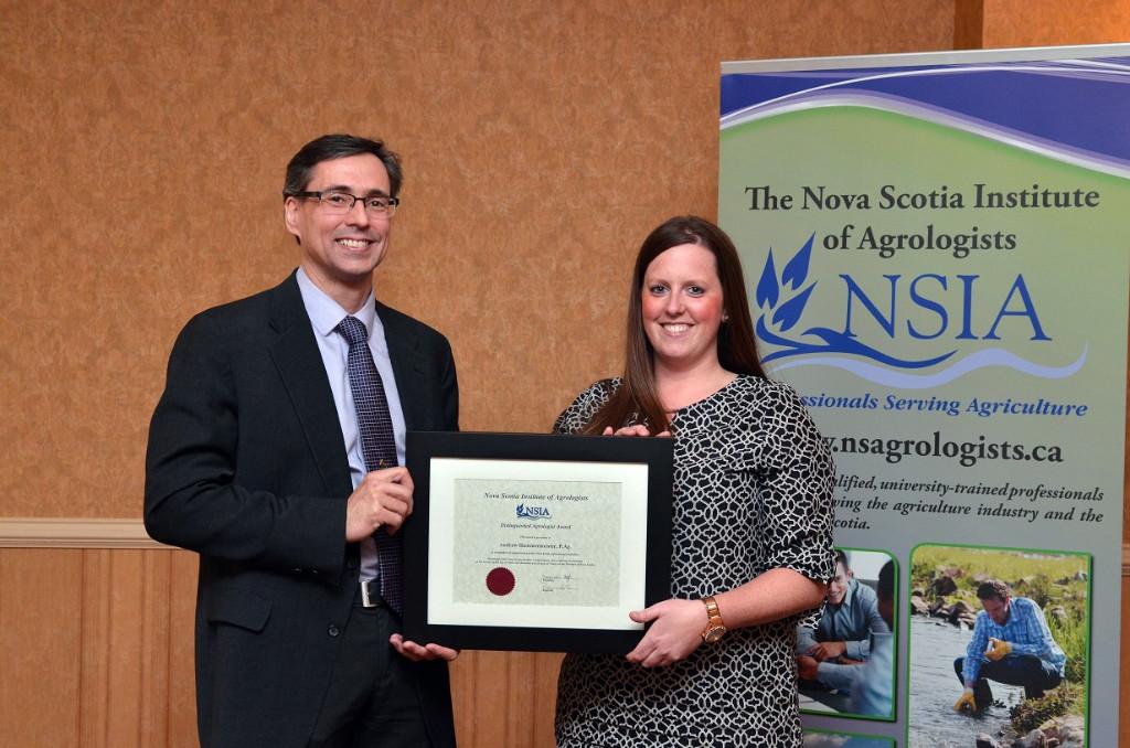 Dr. Andrew Hammermeister - 2016 Distinguished Agrologist