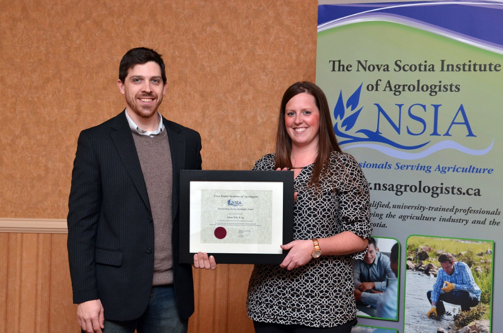 Adam Wile - 2016  Outstanding Young Agrologist
